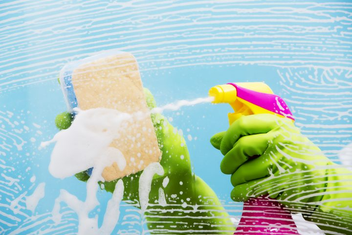back care advice from our bournemouth chiropractor when cleaning